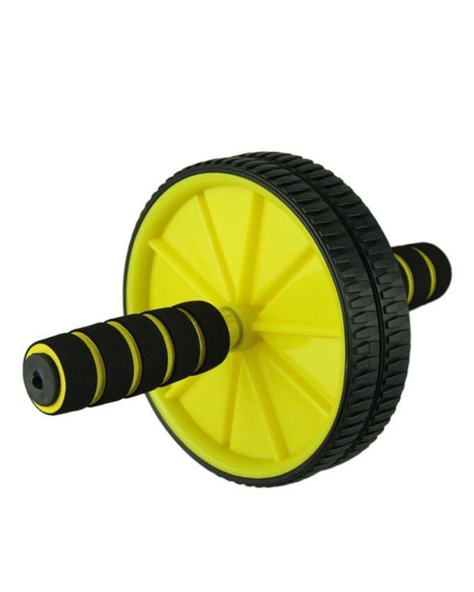 Exercise Wheel - Black & Yellow