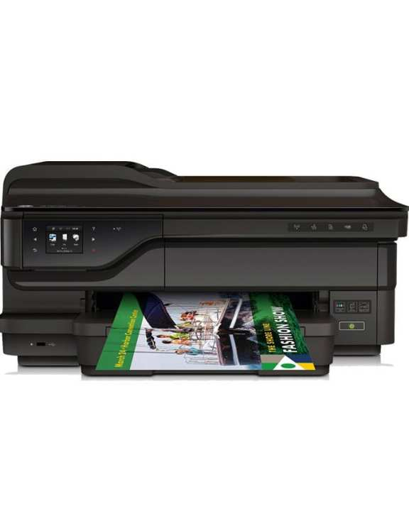 Officejet 7612 Wireless Color Photo Printer with Scanner, Copier and Fax - Black