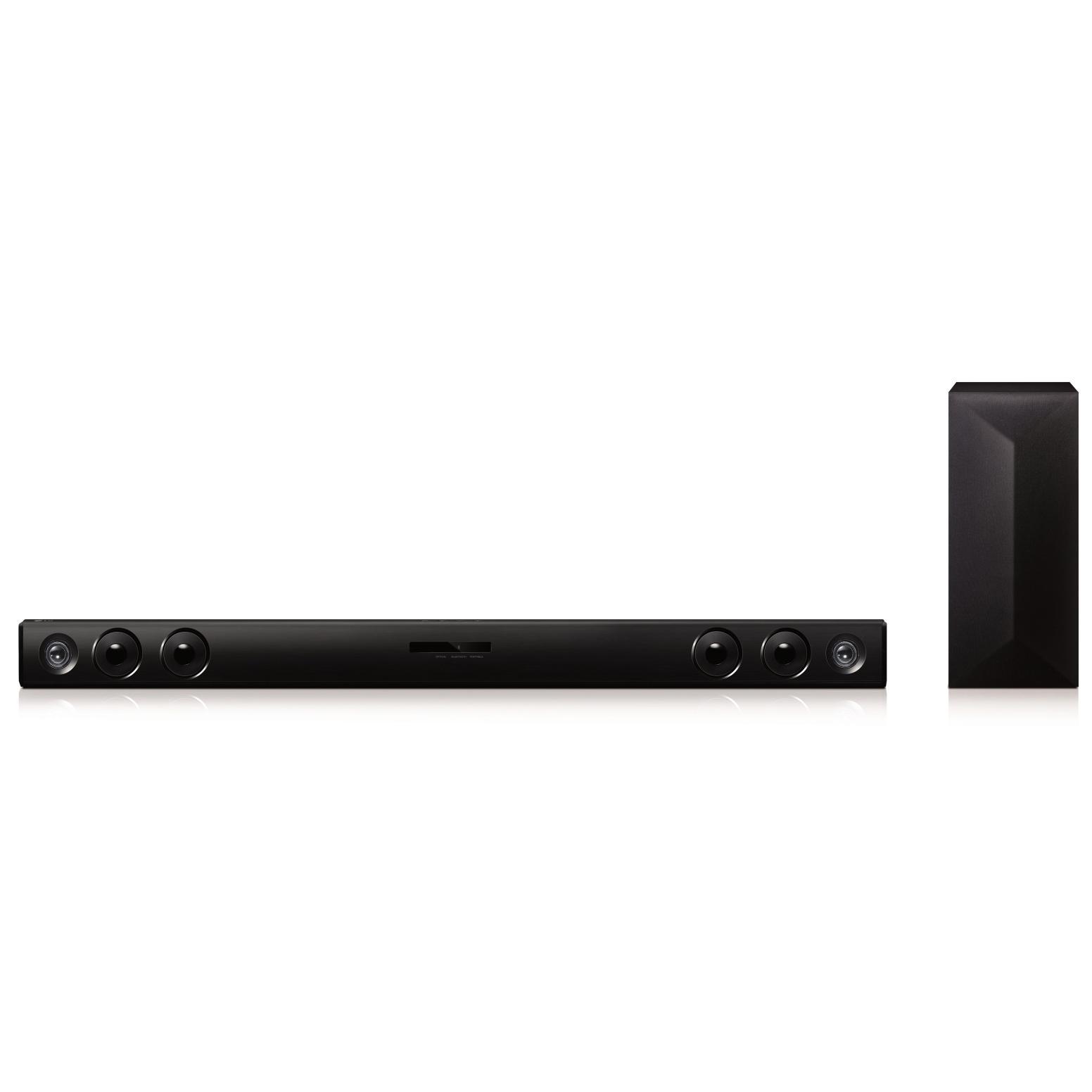 LG LAS464B - 2.1 CH Sound Bar with Subwoofer - Black