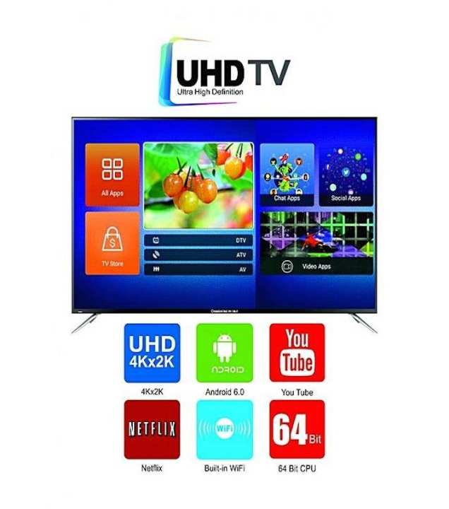 UD65F6300i - 65 inch - Android 6.0 - Built-In Wifi - 4K-UHD Smart TV