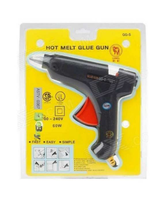 Heavy Duty Fast Hot Melt Glue Gun 60 Watt
