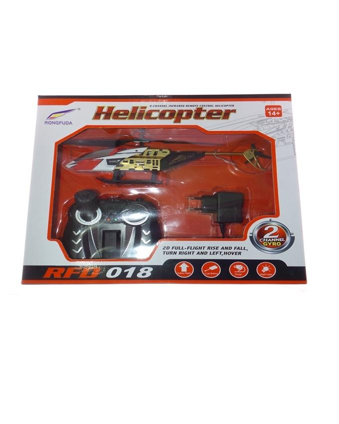 RFD018 - Strong Remote Rechargeable Helicopter - Multicolour