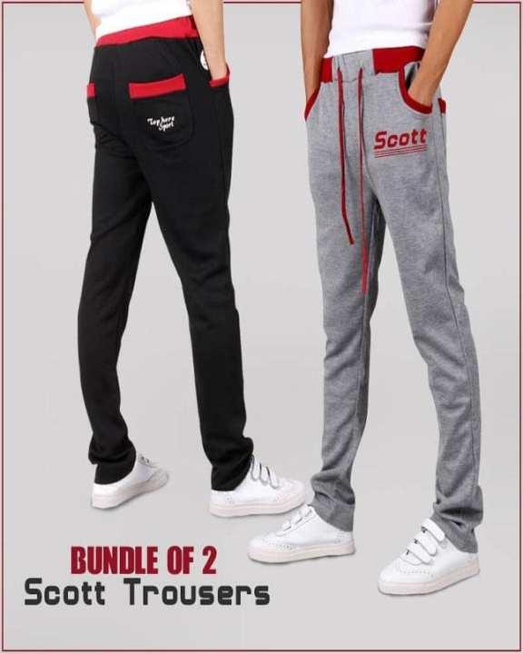Bundle Of 2 Scott Trousers-A&F-Sct-0001