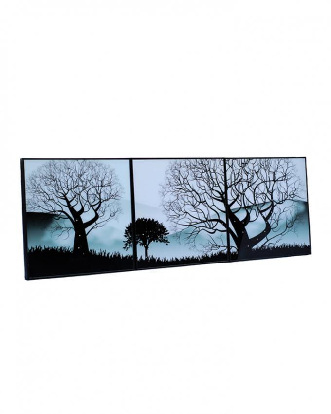 Pack of 3 - Diamontees Design Frames - Black