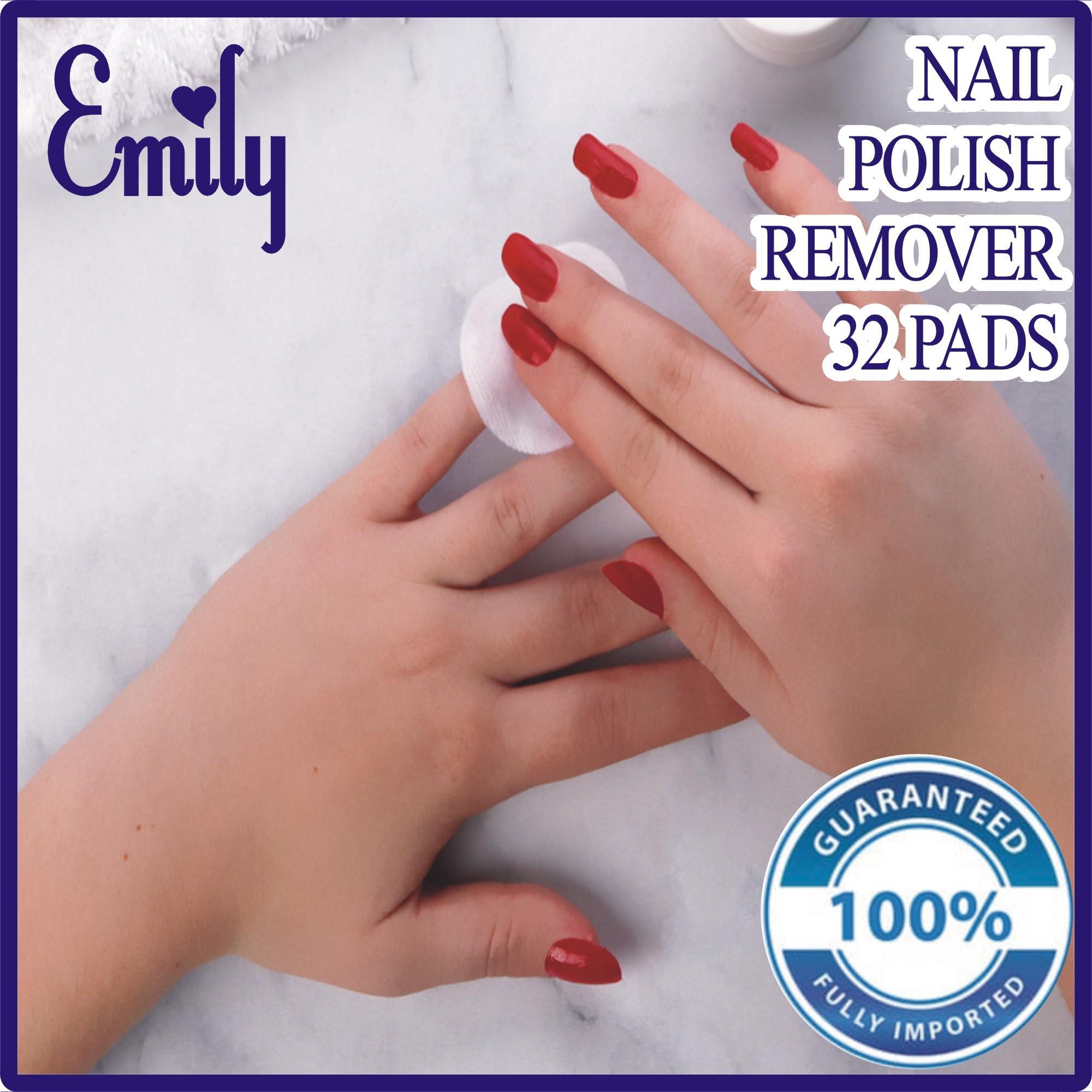 Nail Polish Remover 32 Wipes