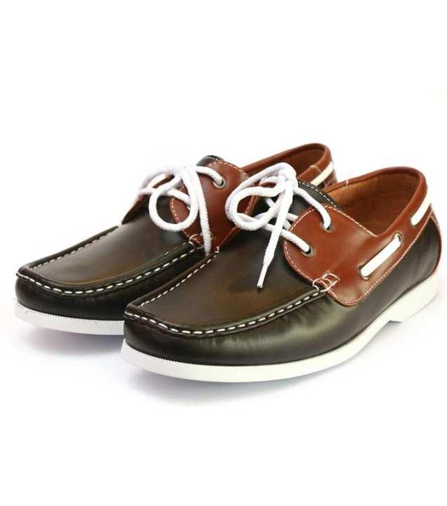 Men Loafers - Black -trj-100