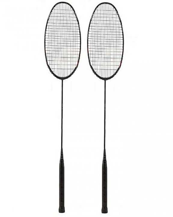 Pair Of Badminton Rackets - Multicolor