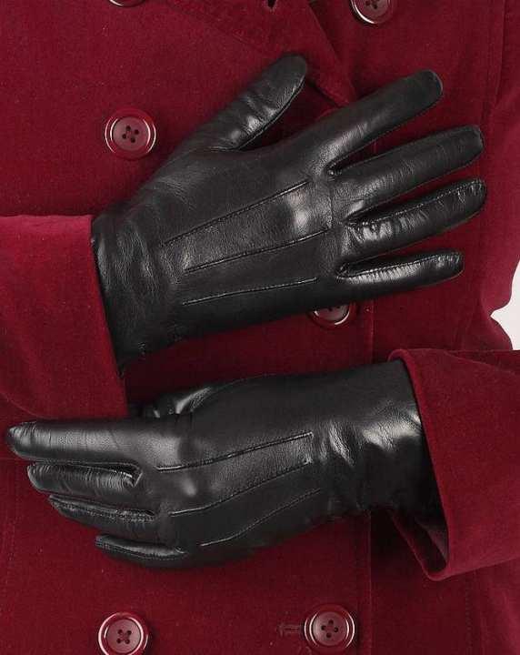 Premium Dressing leather gloves for women