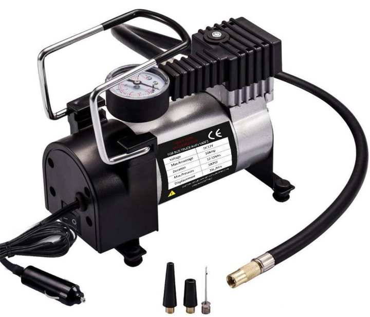 Car Air Compressor 12V DC Heavy Duty Tyre Inflator (P K)