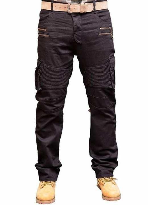 Black Denim Jeans For Men A-02