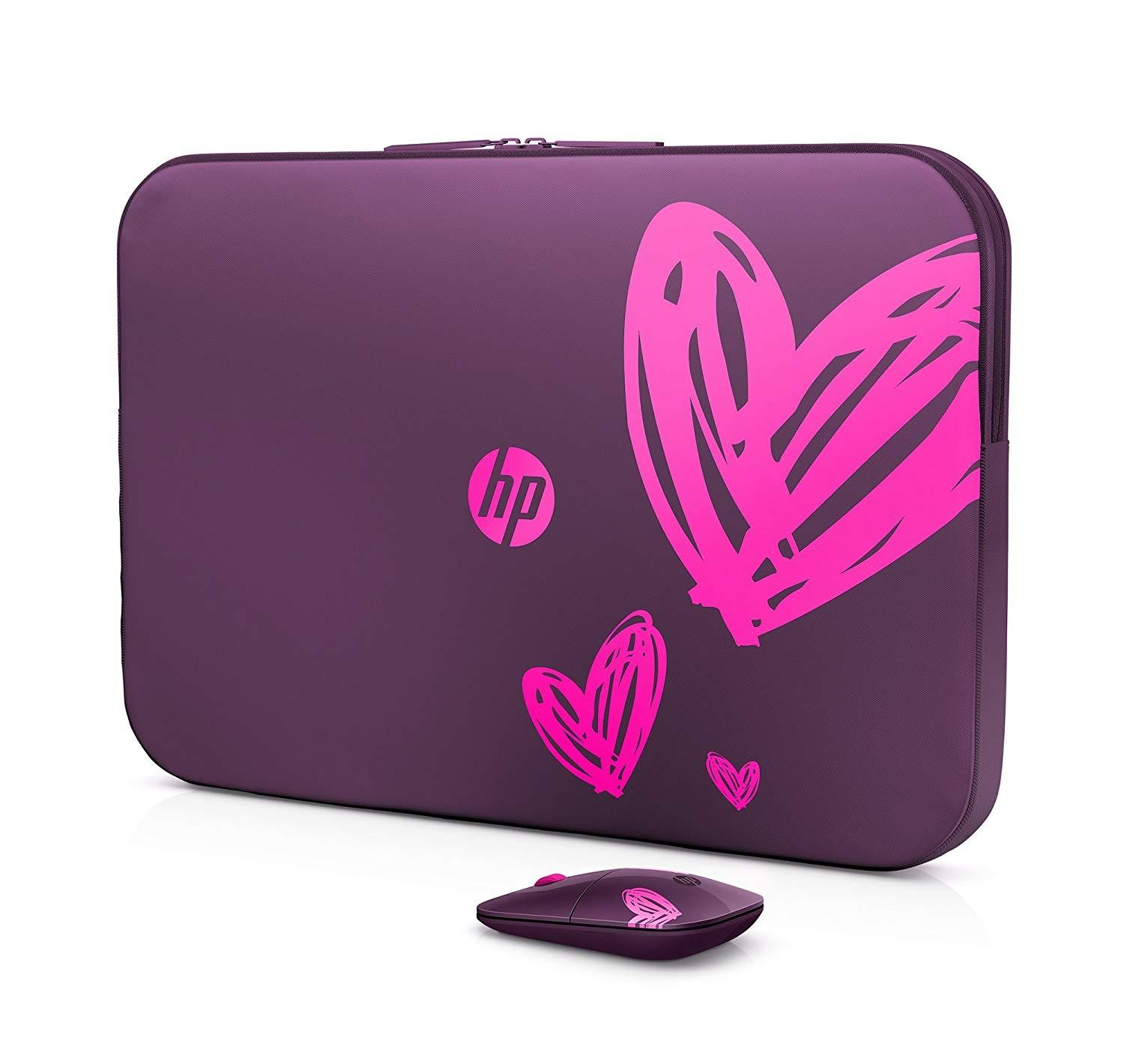 Spectrum Laptop Sleeve 15.6 Inches - Purple Pink Hearts - Special Edition -  Part   65185a591b
