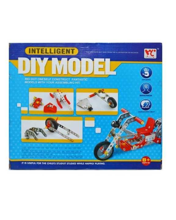 DIY Aluminium Motor Cycle Building Set - Multicolour