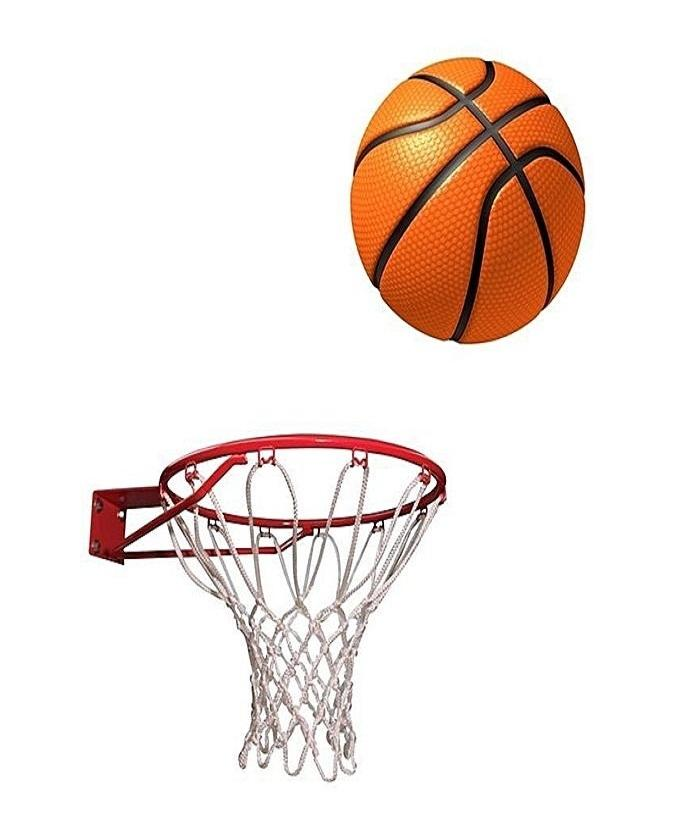 Abdul Marts Basket Ball With Net and Ring