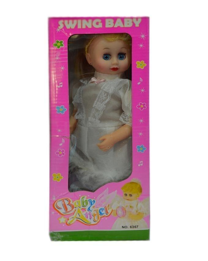 Swing Baby Angel Doll - Multicolor