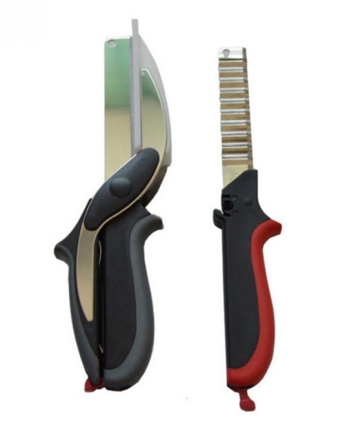 3 in 1 Clever Cutter - Black & Red