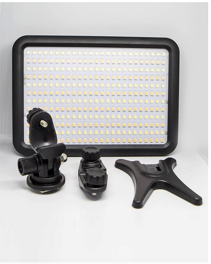 Ultra-Thin Led Video Light Panel - 3200K-5600K Color - Adjustable Temperature 300
