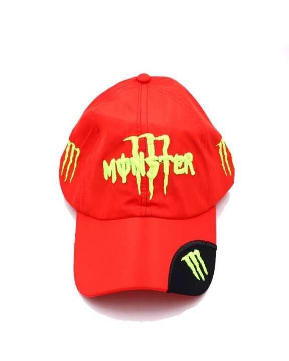 Red Monster Men's Baseball Snap-Back Cap