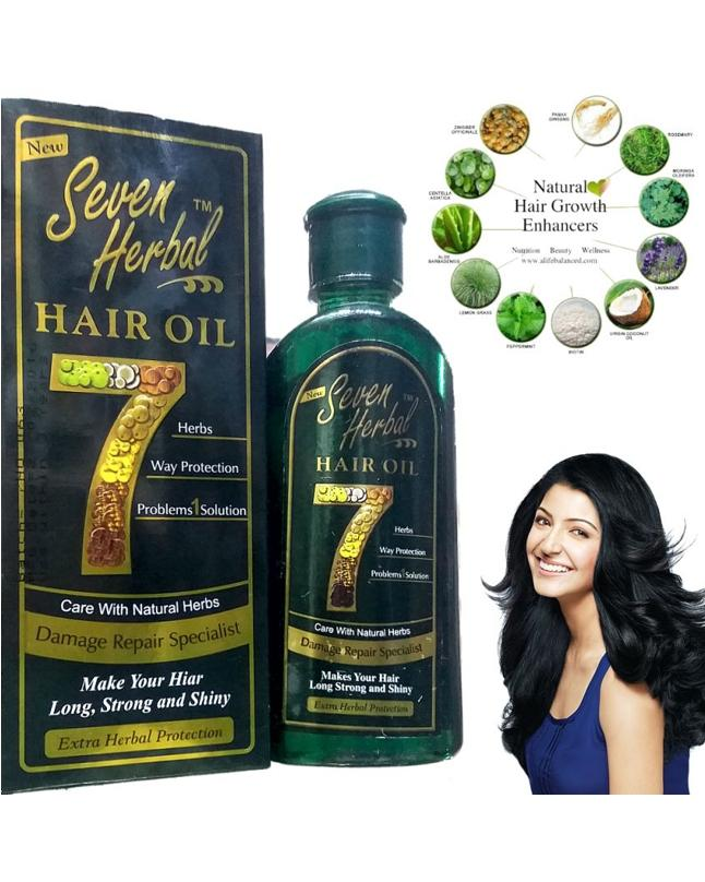 7-In-1 Herbal Hair Oil