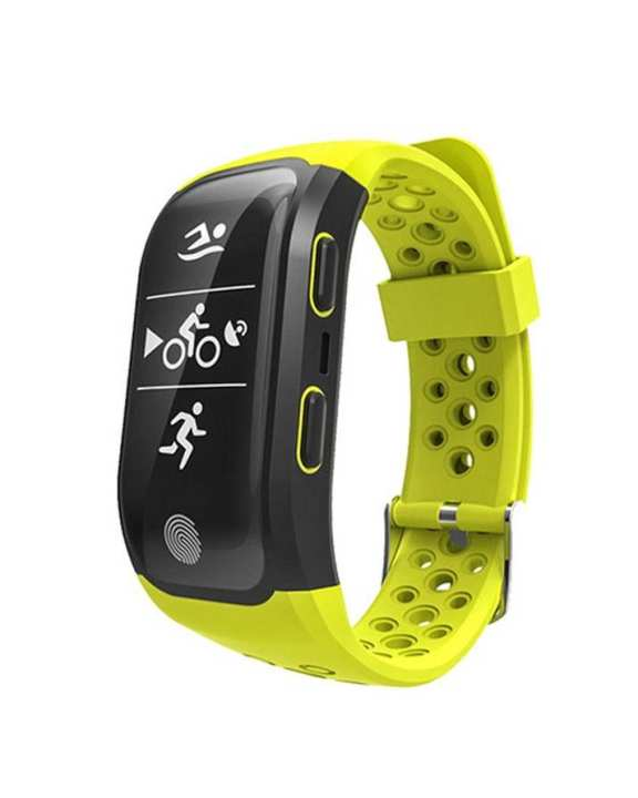 S908 GPS Sports Smartband-GREEN