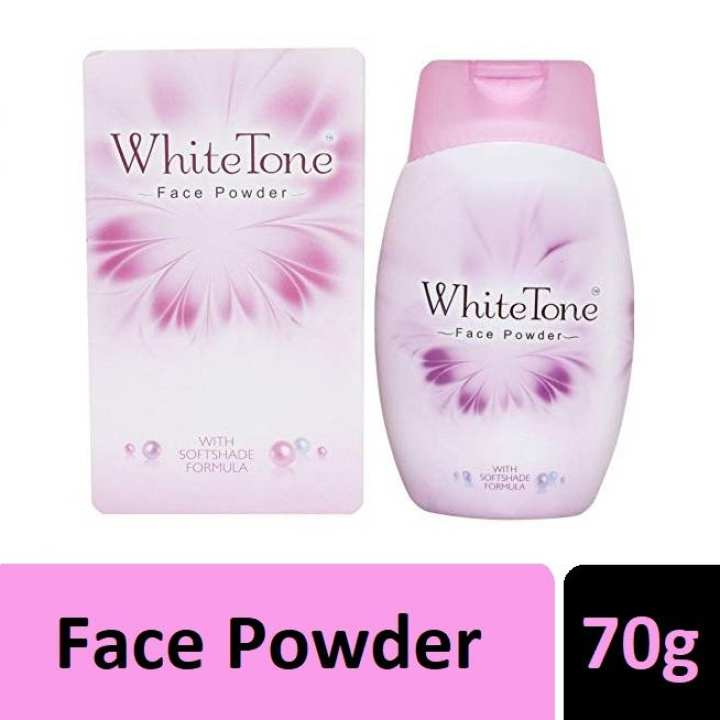 White Tone Face Powder With SoftShade Formula (India) - 70 g