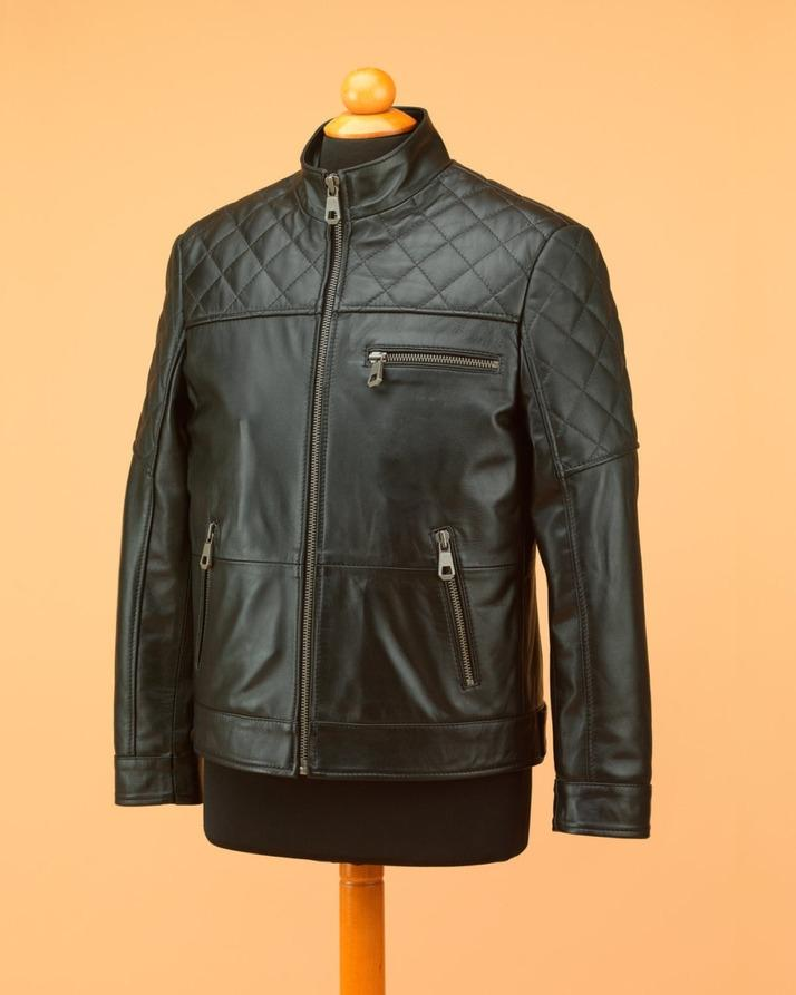 Product details of Men s Genuine Leather Jacket b140542c9da