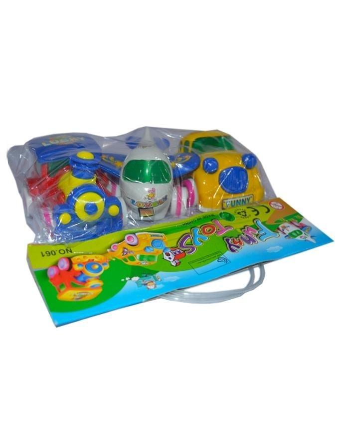 Vehicle Toys - Pack of 3 - Multicolor