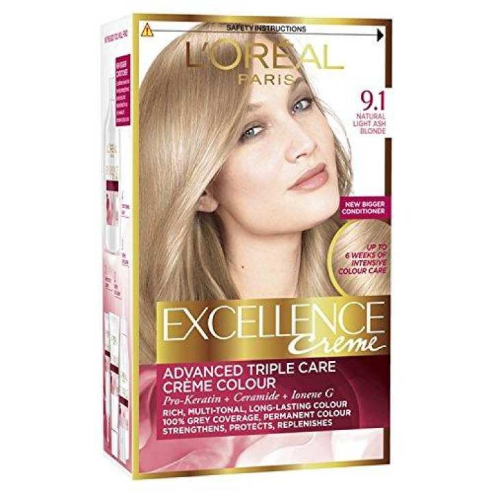 Excellence Creme - 9.1 Light Ash Blonde