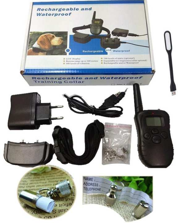 Gleading 300 Meters Remote Dog Training Collar Waterproof Rechargeable Pet Trainer