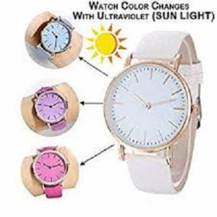 Color Changing Watch For Woman
