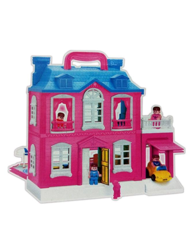 Dream Palace Giant Doll House 40 Pcs Play Set