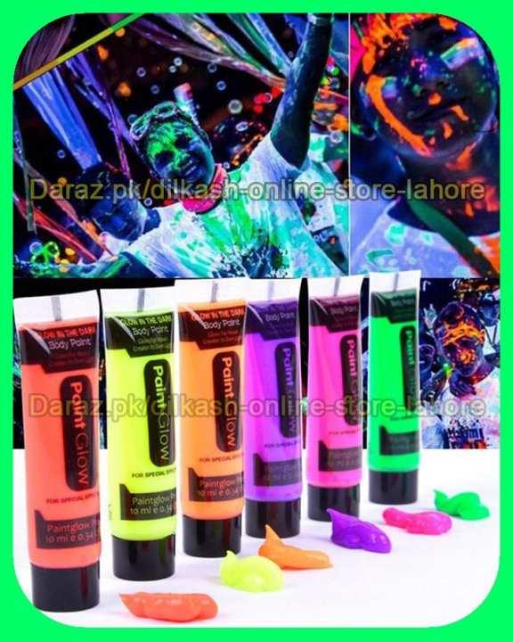 Glow in the Dark Paint Glow in the Dark Makeup 9786062063061
