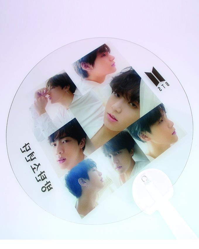 Love Yourself Tear Hand Fan-Plastic- 1 Pc