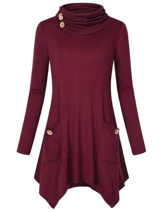 Long Sleeve Casual Shirt For Women