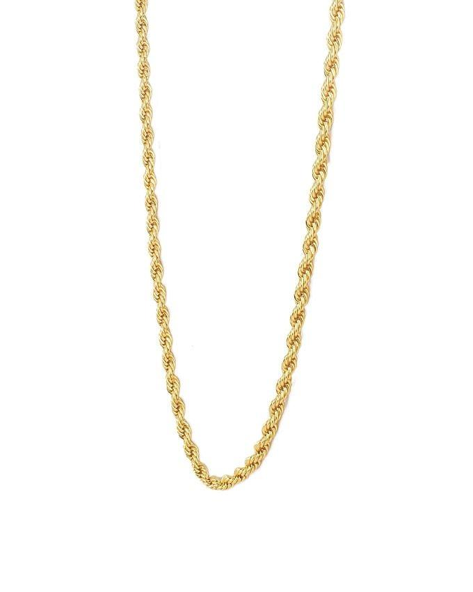 Gold Plated on Stainless Steel Chain For Women
