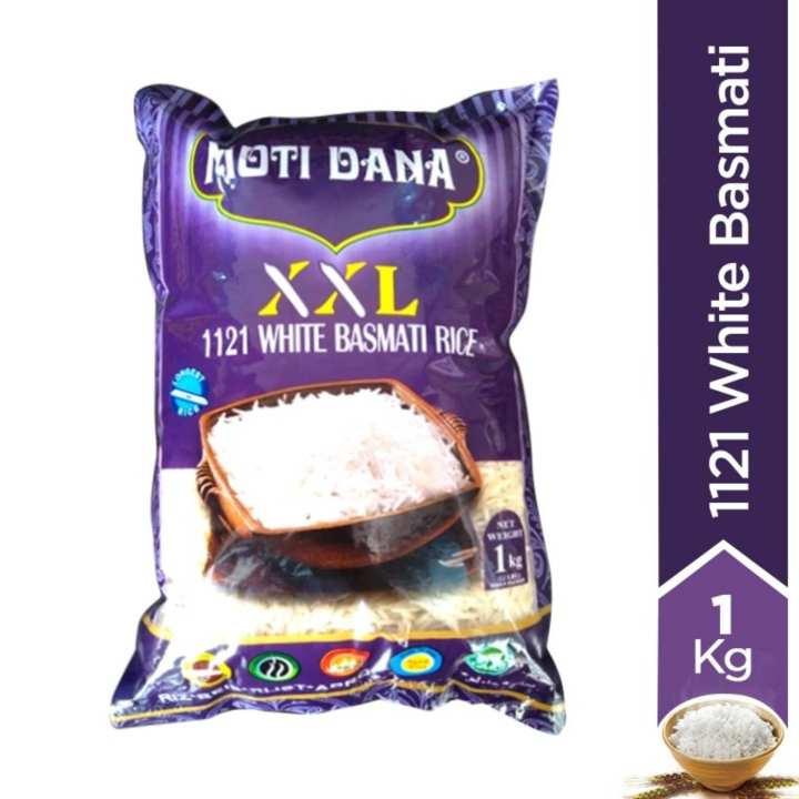 Extra Long Grain 1121 White Basmati Rice - 1kg