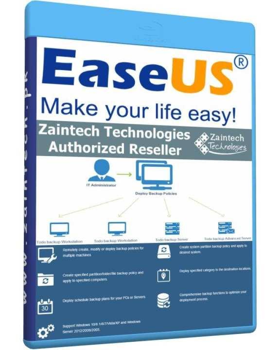 EaseUS Backup Center - Central Management Console - For Server