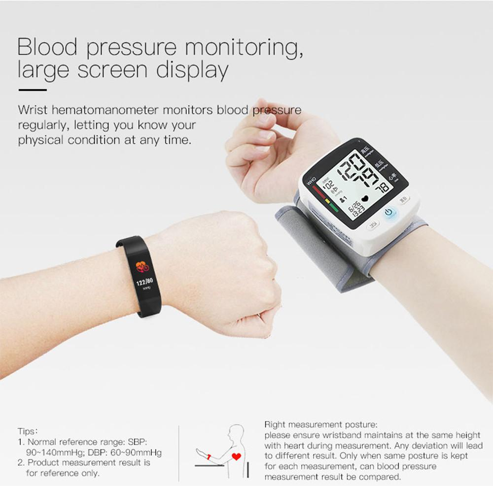 Specifications of Fitness Bracelet With Blood Pressure And Heart Rate  Monitor