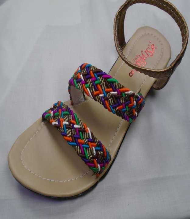 Multi Color Synthetic Fancy Sandal For Women - 206-50688