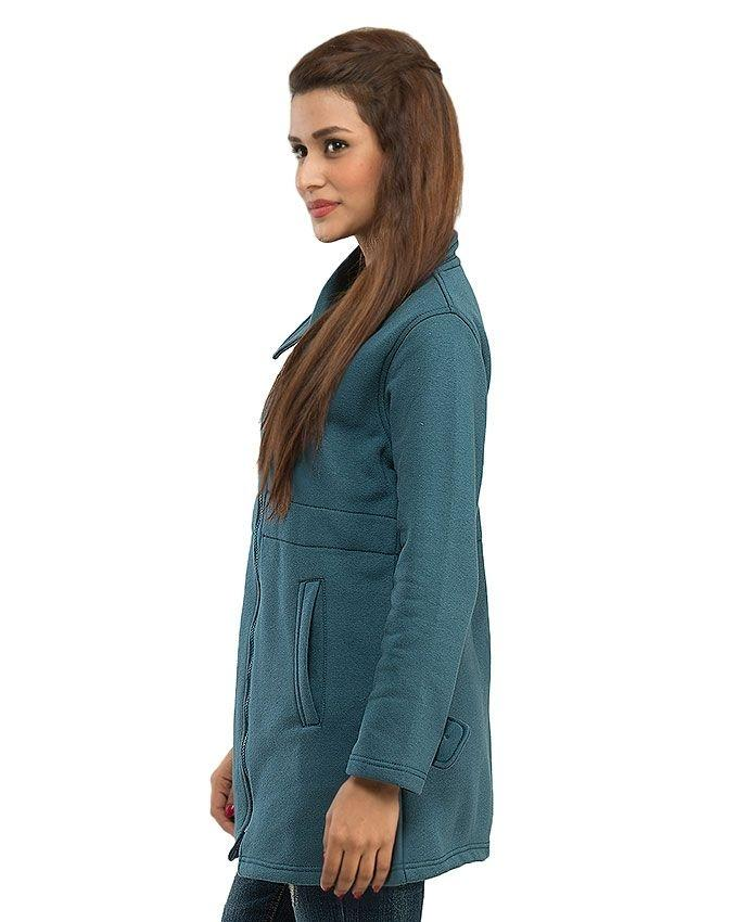 Women Jacket with Front 2 Pocket