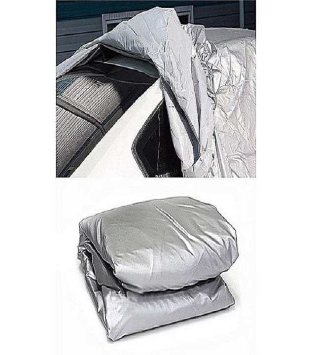 Water Proof Car Dust Cover - Grey