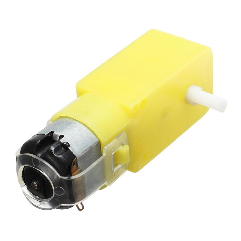 Yellow Dc Gear Motor For Robot 3V-6V 180Rpm