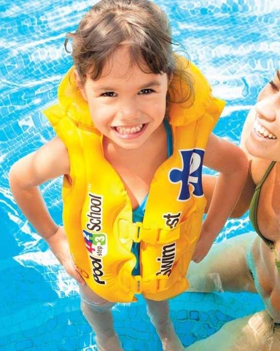 Deluxe Swim Vest Pool school for Kids safety