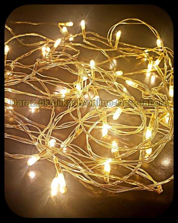 Fairy LED Light String Decoration Light Led Still - 25 Feet Long - Yellow