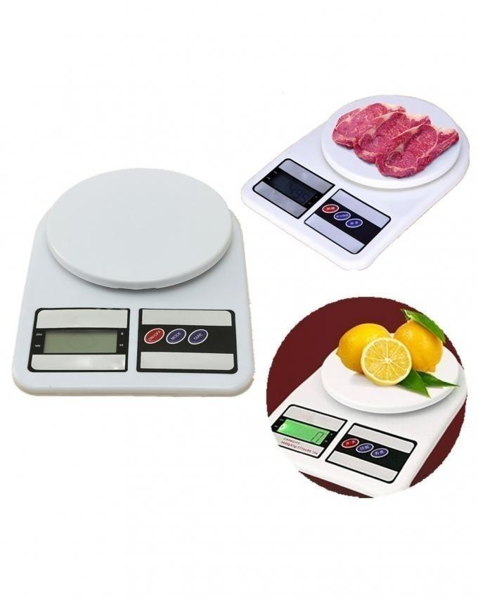 Electronic Kitchen Scale - White