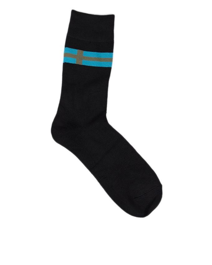 Pack of 3 - Black Cotton Socks For Men