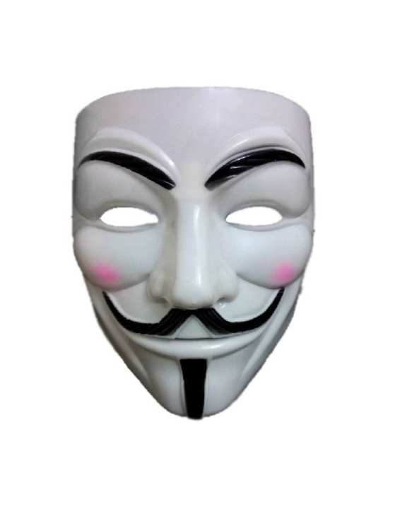 V is for Vendetta Guy Fawkes Mask - Deluxe