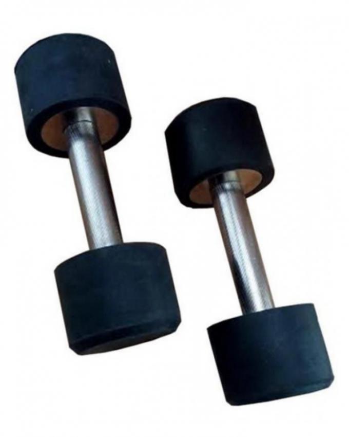 Bundle Offer - 2Kg Dumbbells & Hand Grip - Black