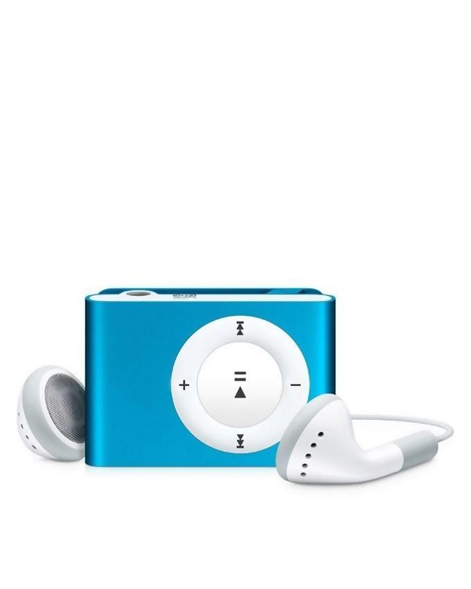 Pack of 2 - Mp3 Player With 8GB MicroSD & Handfree - Blue