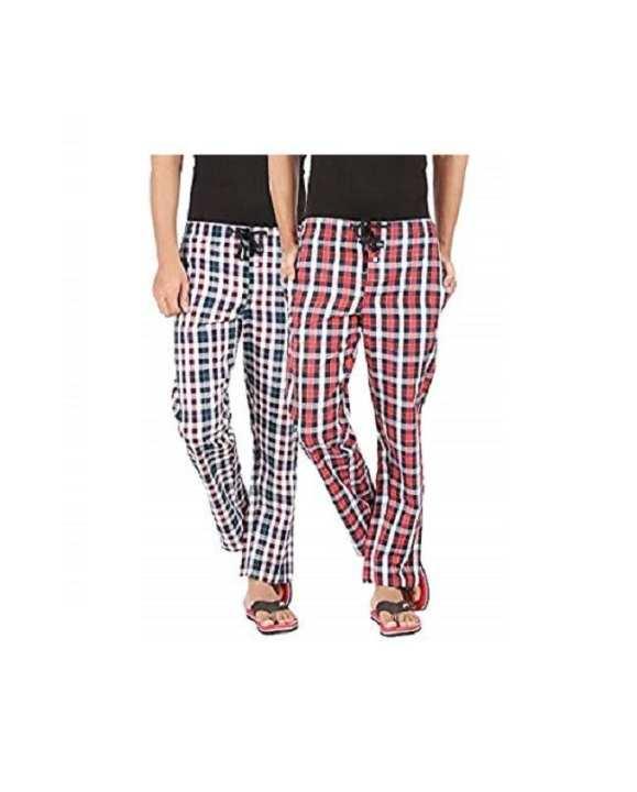 Pack Of 2 Checkered Pajama