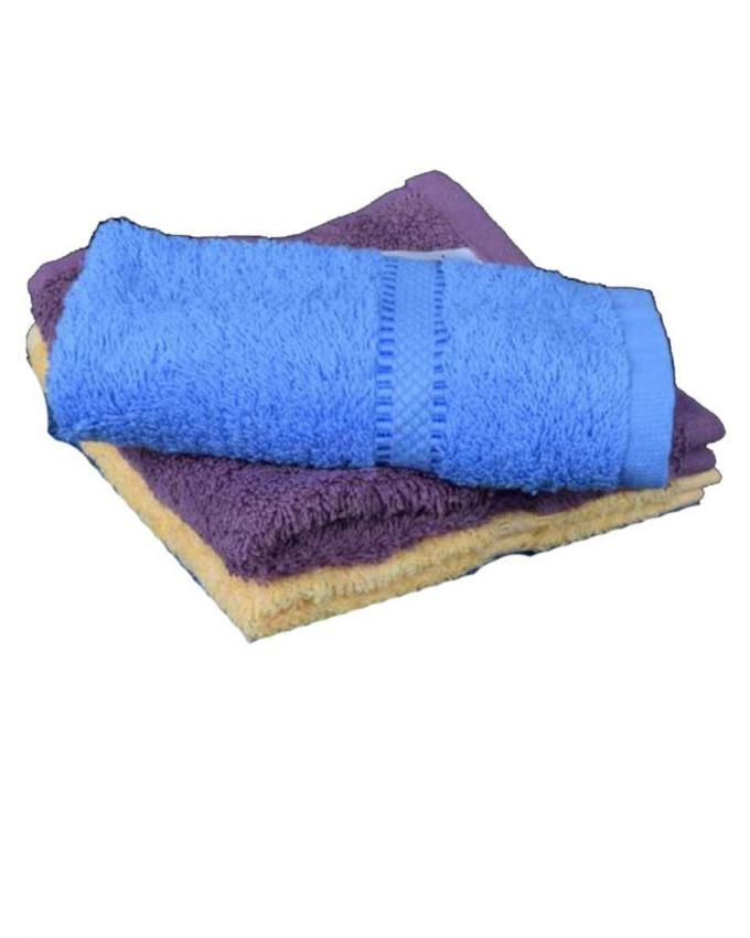 Pack of 3 - Hand Towels - Multicolor